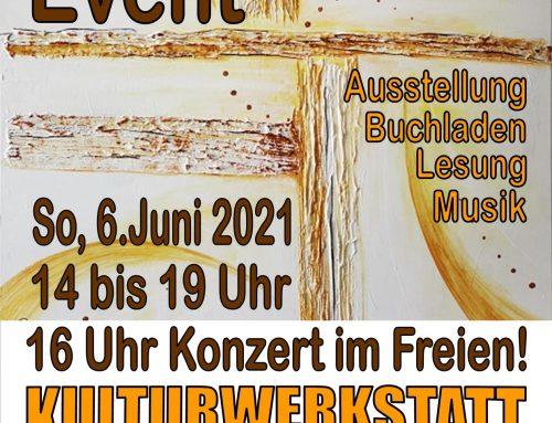 Atelier Event am 6.Juni 2021